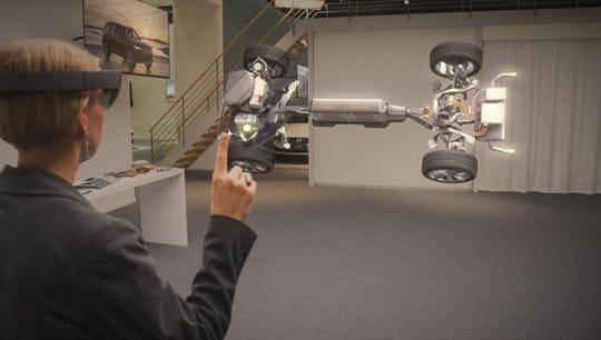 Hololens : Volvo peut montrer à ses clients l'hologramme de la voiture qu'ils veulent