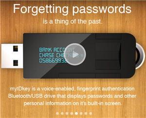 myidkey, la protection ultime pour ses mots de passe ?