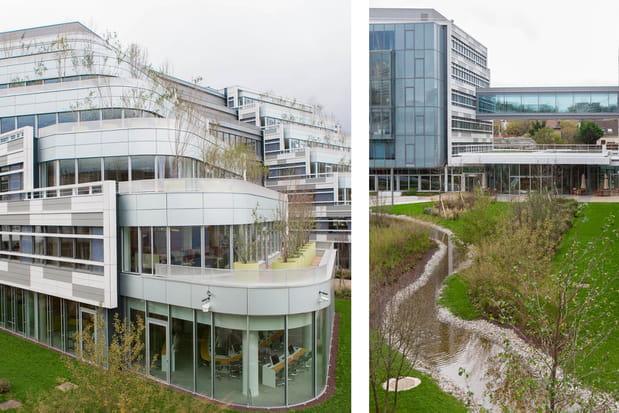 Un environnement de terrasses et de jardins