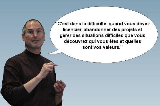 Steve Jobs et son poste
