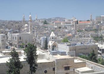 bethléem, le berceau de la civilisation chrétienne.
