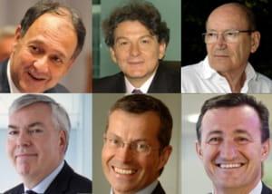 quel dirigeant it a été le mieux payé en 2010 ?