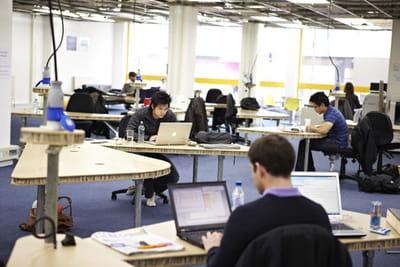 les espaces de co-working se multiplient dans la tech city.