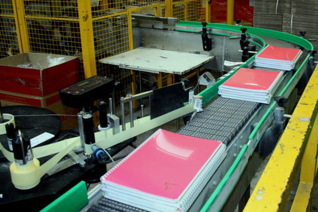 Fabrication Clairefontaine
