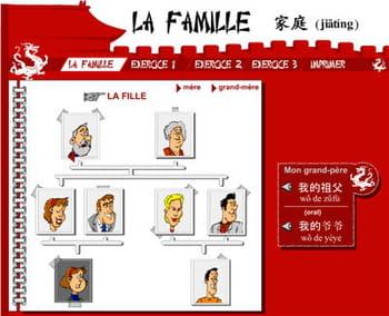 copie d'écran du site parlez chinois.