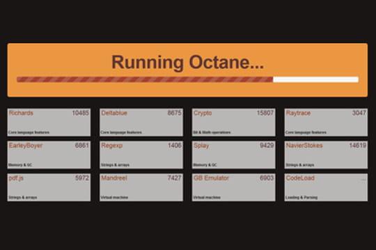 Google Octane : nouvel outil de benchmark JavaScript des navigateurs