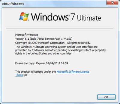 les premières versions du sp1 de windows 7 circulent sur internet depuis le mois