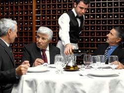les inspecteurs ne visitent pas les restaurants tous les ans.