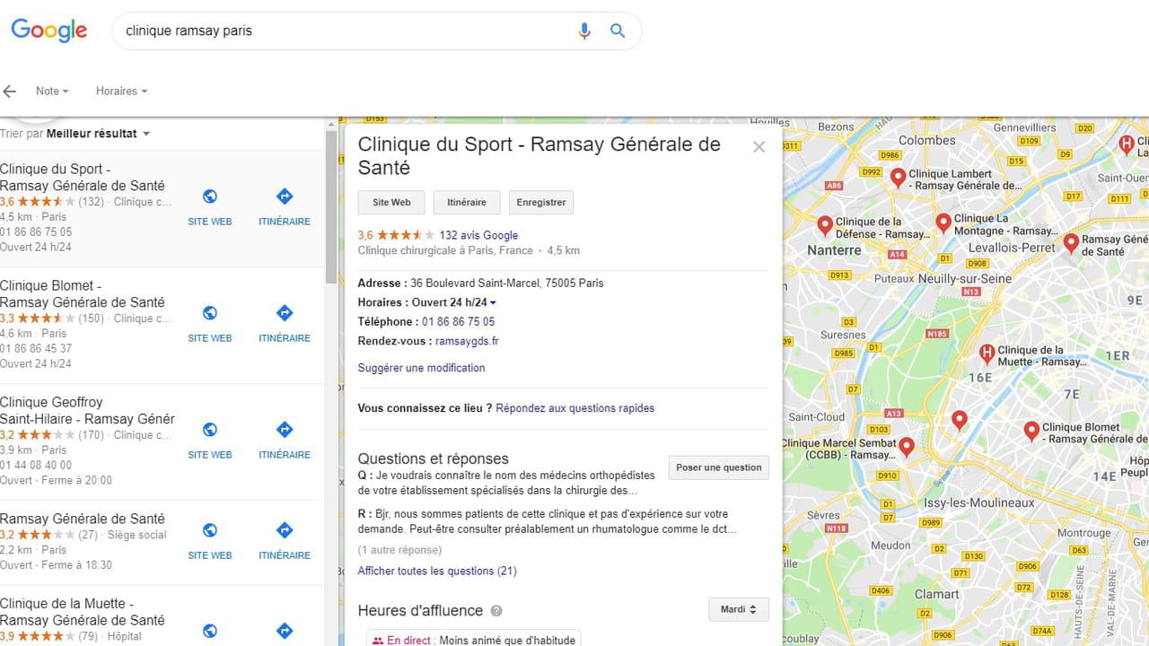 Ramsay Générale de Santé : le SEO local pour perfectionner les process...