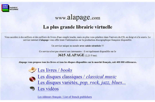 Alapage