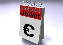 quels sont les évolutions qui entrent en vigueur au 1er juillet 2011?