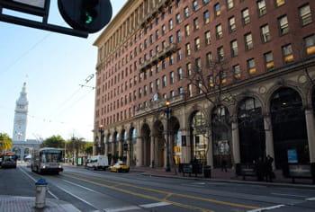 le quartier général de salesforce,dans le centre de san francisco.