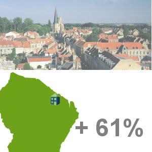 roura, en guyane, est la 23e ville de france qui a vu sa population le plus