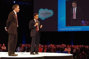 Salesforce passe à l'offensive dans le CAC40