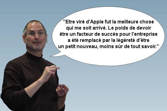 Steve Jobs départ forcé