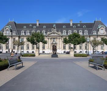 le siège d'arcelormittalau luxembourg.