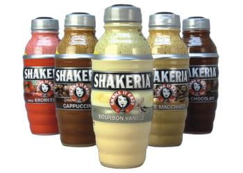 lait frappé en shaker shakeria.