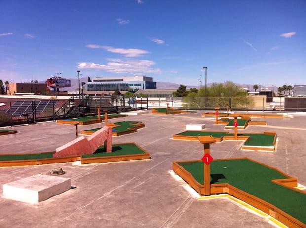 Mini-Golf sur les toits