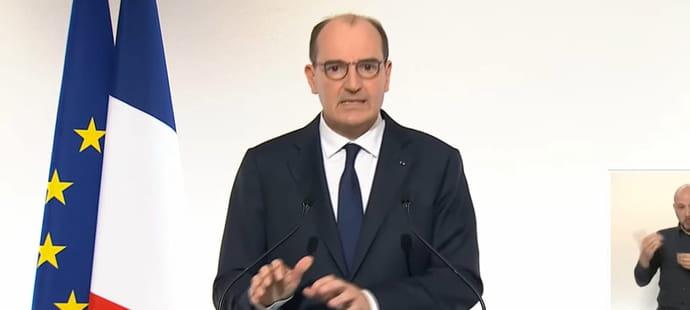 Discours de Castex: couvre-feu, contrôle aux frontières...