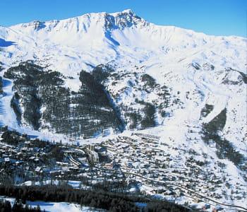 le domaine skiable de la forêt blanche