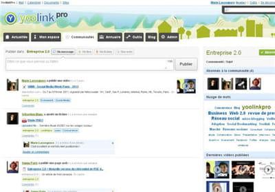 capture d'écran yoolinkpro