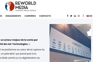 Reworld Media lance une offre de monétisation externe