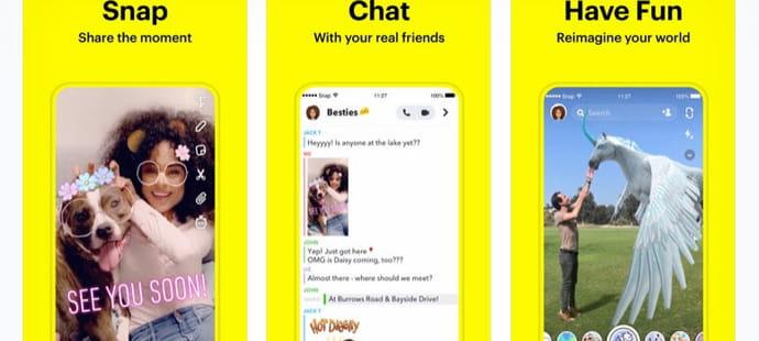 En 2019, Snap a été le réseau social le plus populaire chez les Français de 11à 24ans