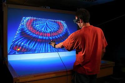 simulation de propagation d'onde sismique en milieu 3d