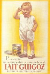 le lait en poudre, une révolution dans l'alimentation des enfants.