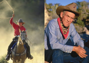 'dans la peau d'un cow-boy', un circuit esprit western de nouvelles frontières.