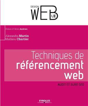 eyrolles vient de publier 'techniques de référencementweb', écrit par alexandra