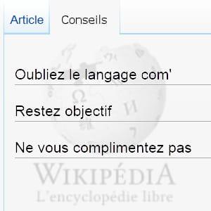 la neutralité de ton est l'un des principes fondamentaux de wikipédia.