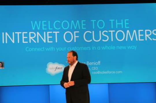 Salesforce arrive sur les Google Glass