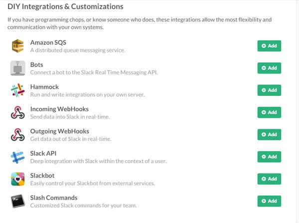 outils tiers de personnalisation.