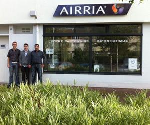 depuis 2005, airria se tourne essentiellement vers le b to b.