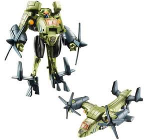 les transformers sont des robots qui se transforment en voitures, chars ou
