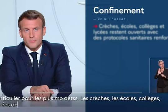 Reconfinement: un discours de Macron mercredi évoqué