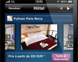 l'application accor permet de visiter les hôtels des onze chaînes du groupe.