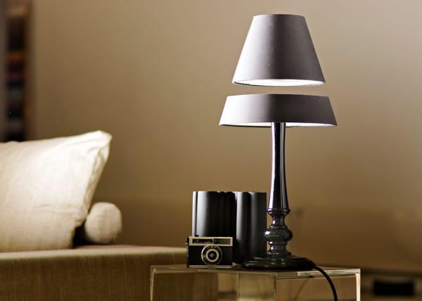 La lampe qui l vite - Lampe de sel qui coule ...