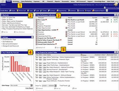 interface netsuite dédiés aux dirigeants, tous secteurs confondus