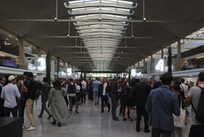 A Station F, les start-up acclament Emmanuel Macron et ovationnent Xavier Niel