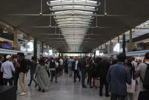 A Station F, les start-up acclament Emmanuel Macron et ovationnent Xavier Niel