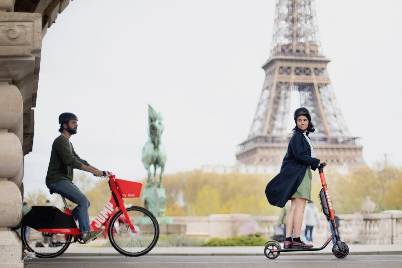 Actualités Corporate: Uber déploie trottinettes et vélos électriques à Paris ce jeudi