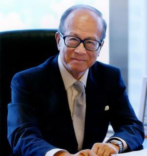 li ka-shing, homme d'affaires hong-kongais.