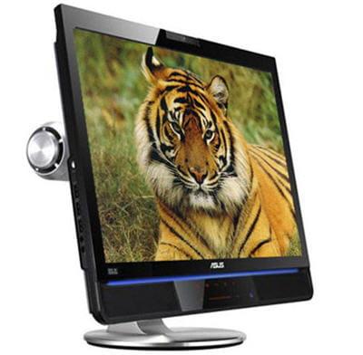 un moniteur truffé d'options : ensemble enceintes/caisson intégré, webcam, ports