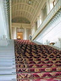 l'escalier d'honneur du sénat.