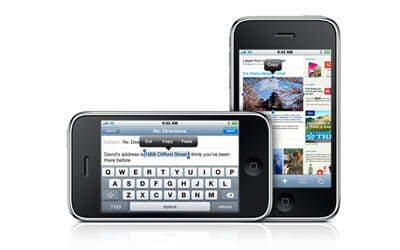 'nouvelle' fonction copier-coller sur l'iphone
