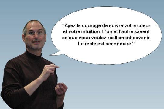 Steve Jobs, sa façon de voir la vie