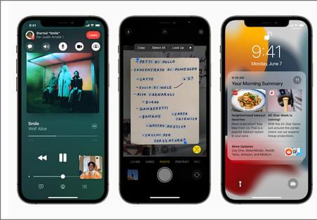 iOS15: nouveautés, bêta, date de sortie, compatibilité iPhone...