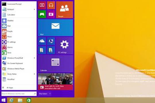 Windows 9 : de nouvelles révélations et capture d'écran
